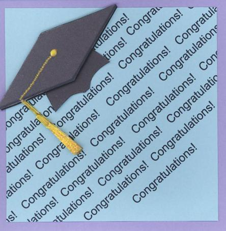 congratulatios graduate!