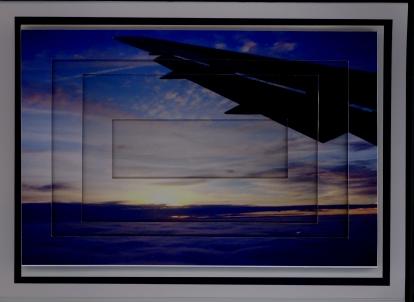 Reverse Pyramid airplane wing